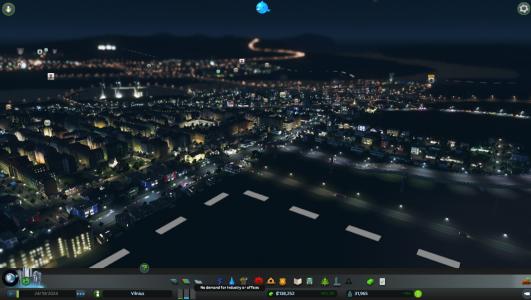 Miestas naktį